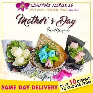 [FREE DELIVERY] Mother's Day Hand-bouquets