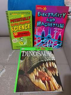 Science Books (3 books for $16)
