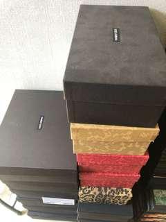DOLCE & GABBANA (D&G) 鞋盒 紙袋 說明書 shoes box paper bag manual