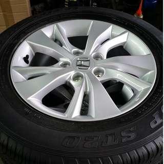 "Honda Vezel 16"" Rim W/ Tyres"