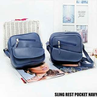 Tas sling rest pocket