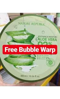 FREE ONGKIR Nature Republic Aloe Vera Ori Korea