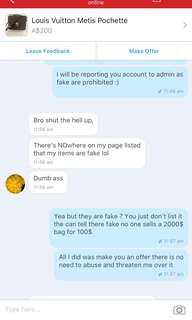 RUDE , MOST Of her ratting are fake account she made