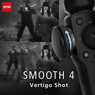 ZHIYUN Smooth4 - 3 Axis Smartphone Stabilizer Gimbal (Black & White)