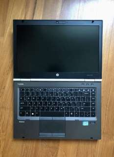 HP EliteBook 8740W i7 ssd mobile workstation