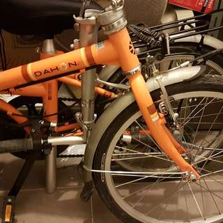 Dahon foldable bike