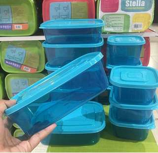 Calista stela food containers 12 pcs
