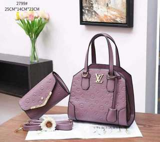 Louis Vuitton 2799# Set 2in1