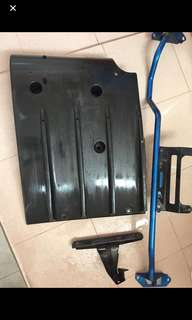 Subaru wrx hawkeye rear diffuser