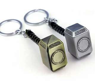 雷神錘子鑰匙扣/銀色