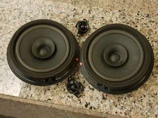 "Used Car Stock 6.5"" Front Speakers & Twitter"