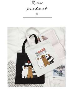 💓PREORDER- 🐻We Bare Bears Bag