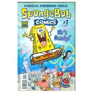 Spongebob Comics #1 Comics ( Rare )