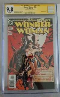 CGC SS signed by Gal Gadot ( Wonderwoman actress )