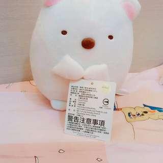 角落生物白熊娃娃
