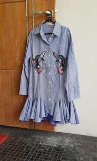 Blouse Dress Girly