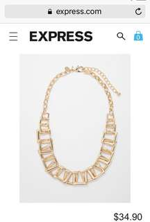 BNWT necklace from Express