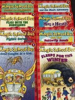 Scholastics readers level 2 - The Magic school bus