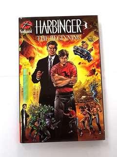 HARBRINGER THE BEGINING HARDCOVER VALIANT COMICS