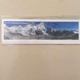 Everest Himalayan Range Fridge Magnet