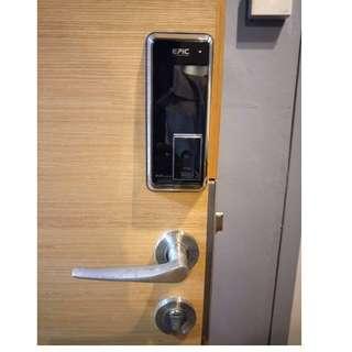 Epic popscan fingerprint lock using the latest airtouch sensor at $469