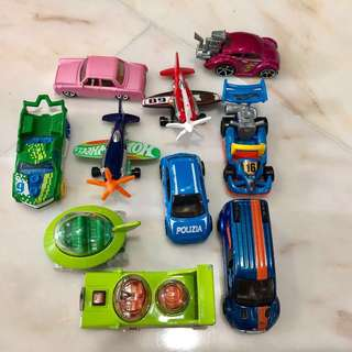 Hot Wheels used lot $10