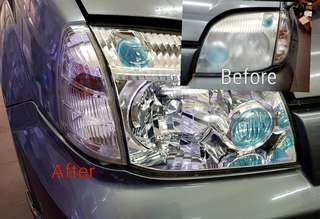 Repair HeadLight make it brand new again