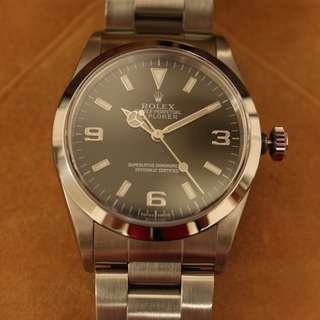 Rolex Explorer I 14270 Box + Papers