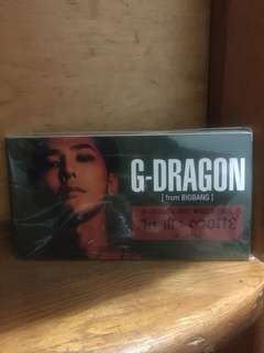 Bigbang GD 日本入會禮物