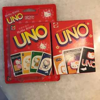 [BNIB] Authentic Hello Kitty Sanrio Uno playing cards x 2