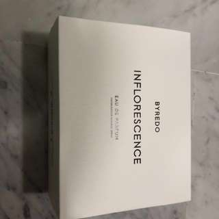 Byredo perfume cologne inflorescence 100ml