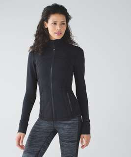 VGUC Lululemon Black Define Jacket Size 4