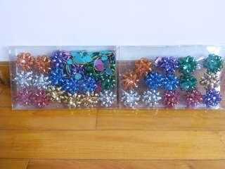 Decoration Bow 包裝装飾花球 (2 boxes)