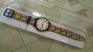 Swatch Retro Watch