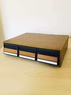 早期卡帶匣錄音帶盒收納盒抽屜