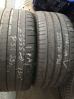 255/35/20 pss 2pc used tyre 1pc$60 with labor