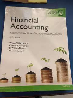 Financial accounting, international financial reporting standards (9th ed)