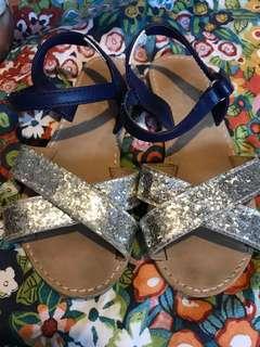 Gymboree strappy sparkle sandals