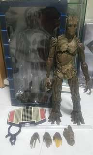 1/6 scale guardians of the galaxy groot
