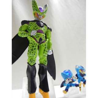 Gashapon Figure Cell and Junior Cell Dragon ball Z Very Rare Figure