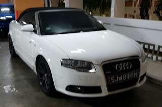 Audi A4 convertible SG