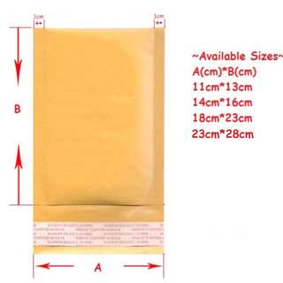 Bubble Padded Envelopes (Various Sizes)