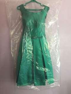 Green Cocktail Dress 👗