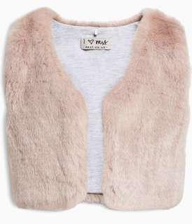 Next Uk baby Fur Vest