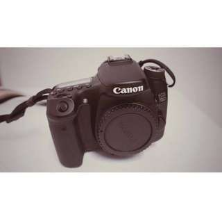 Canon 70D with 2 Lens