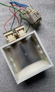 Used CFL light fittings