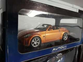 Autoart Nissan Fairlady Roadster 1:18 non kyoto minichamps hot wheels