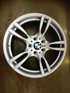 "18"" 5x120 3 series original staggered wheel 1 set $900"