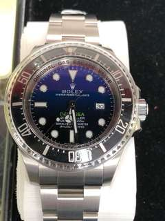 全新勞力士ROLEX 116660 Deep Sea Blue 水貨2018 年