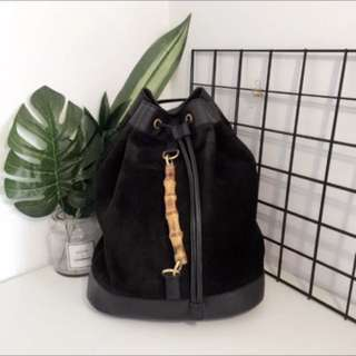 🔥🔥Sale!Vintage Gucci bamboo backpack